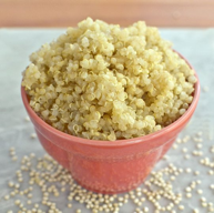 Kokt quinoa  Bilde fra: http://balancedwellness.co.nz/tag/quinoa/